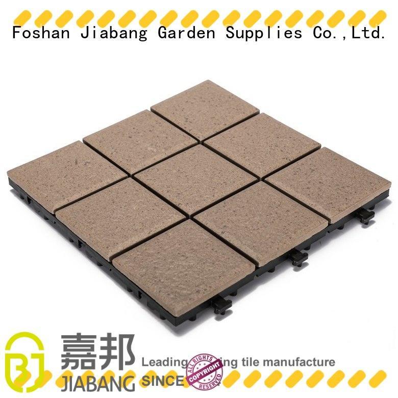 porcelain deck tiles exhibition at discount JIABANG