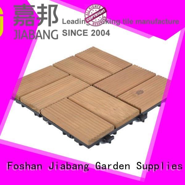 refinishing interlocking wood deck tiles outdoor long size for balcony