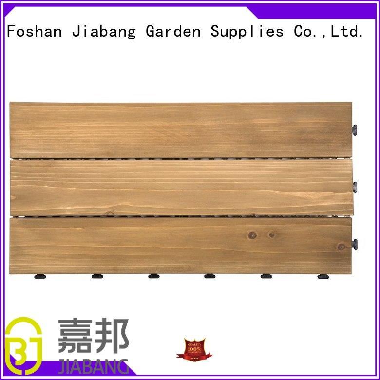 adjustable interlocking wood deck tiles outdoor chic design for garden