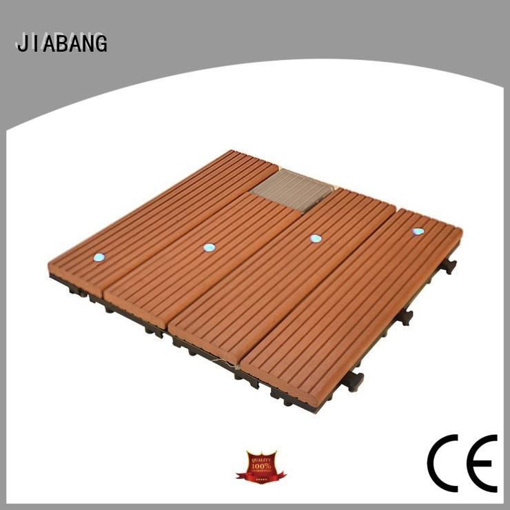 Home garden solar deck tiles SSLW-WPC30 BX