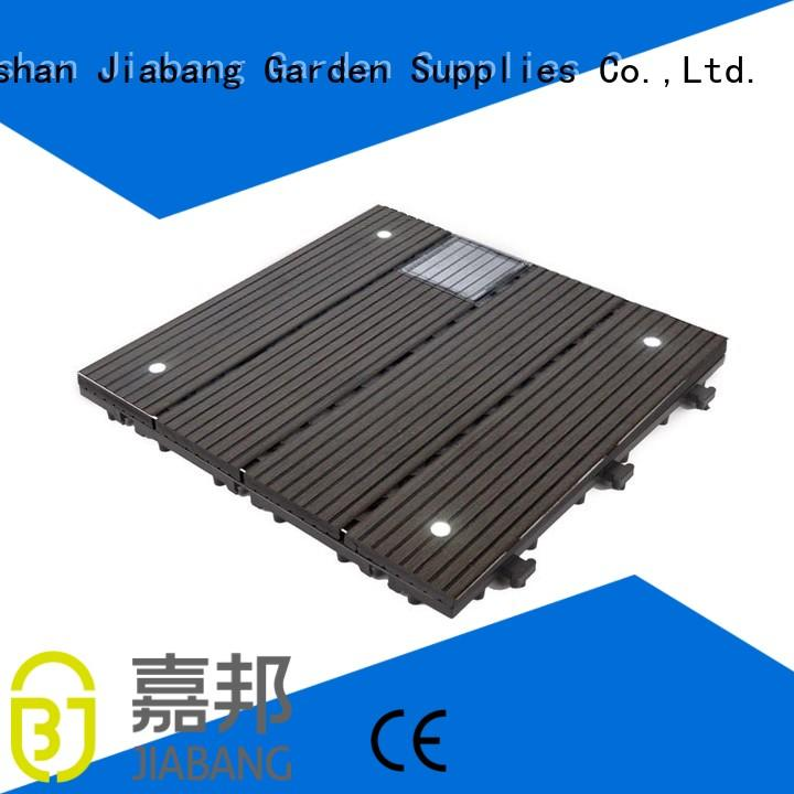 outdoor composite deck tiles wpc ground JIABANG