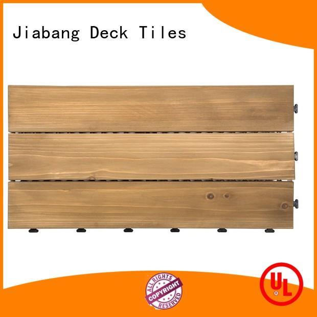 outdoor wood deck panels flooringwood for garden JIABANG