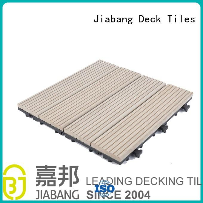 composite wood tiles composite decking tile composite deck tiles tiles JIABANG Brand