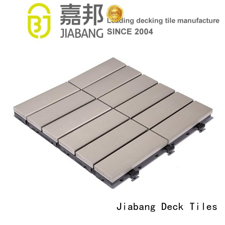 JIABANG wholesale plastic decking tiles anti-siding home decoration