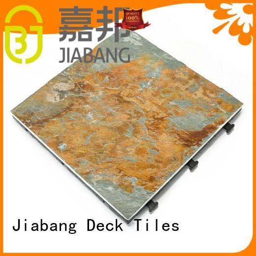 JIABANG non-slip slate floor tiles for sale garden decoration for patio