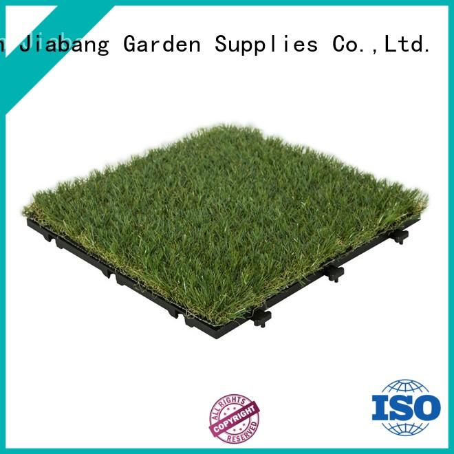 JIABANG landscape deck tiles on grass at discount balcony construction