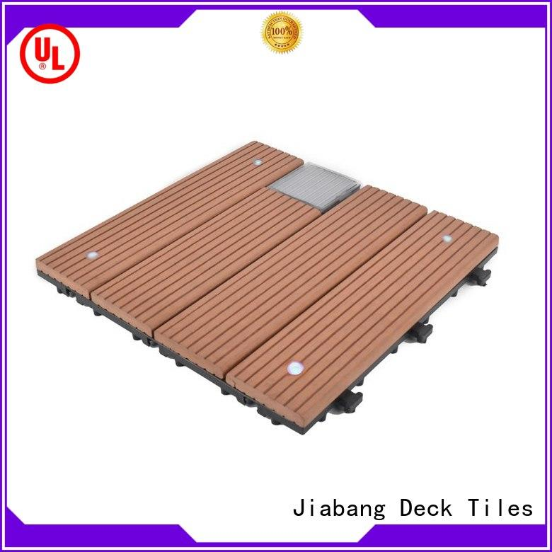 JIABANG durable patio deck tiles protective ground