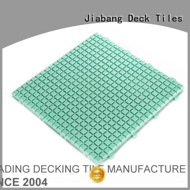 JIABANG bathroom floor plastic interlocking outdoor tiles non-slip kitchen flooring