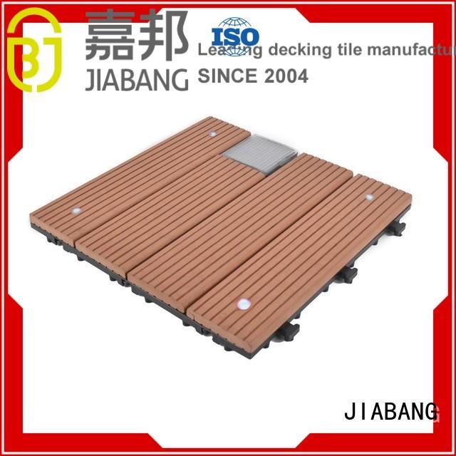 wpc patio deck tiles protective ground JIABANG