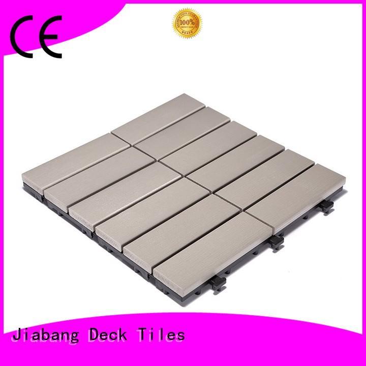 wholesale plastic decking tiles light-weight anti-siding garden path