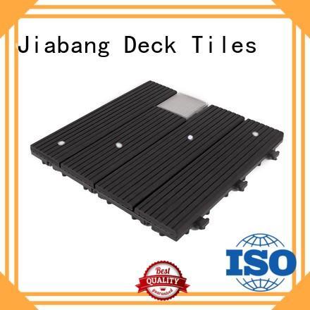 balcony deck tiles eco-friendly ground JIABANG