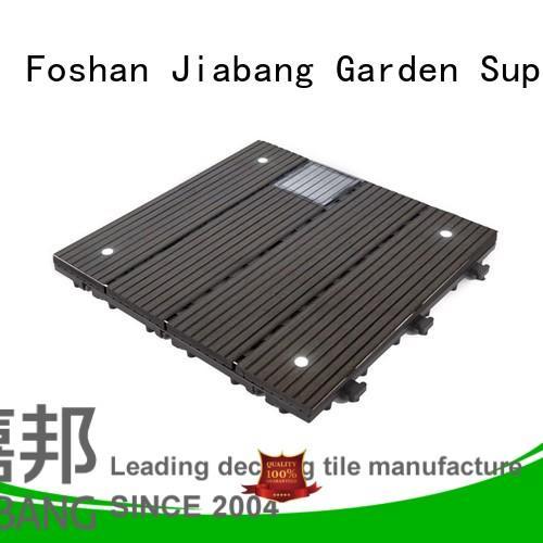 JIABANG eco-friendly modular decking panels home