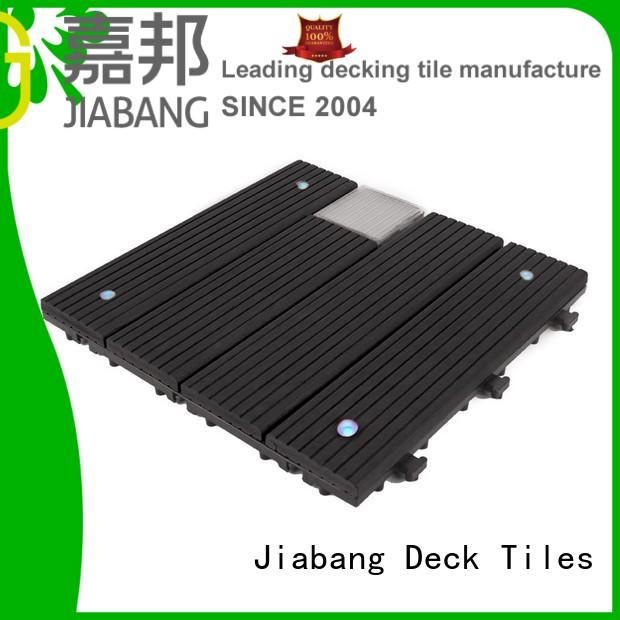 wpc balcony deck tiles ground JIABANG