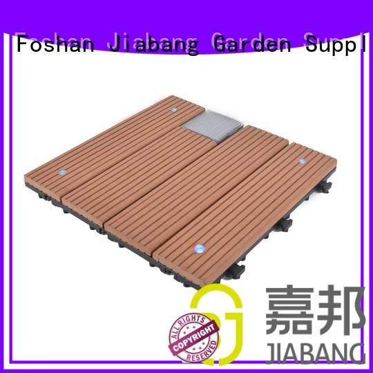 JIABANG led snap together deck tiles protective ground