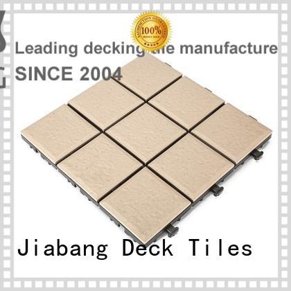 Hot patio ceramic interlocking tiles porcelain JIABANG Brand