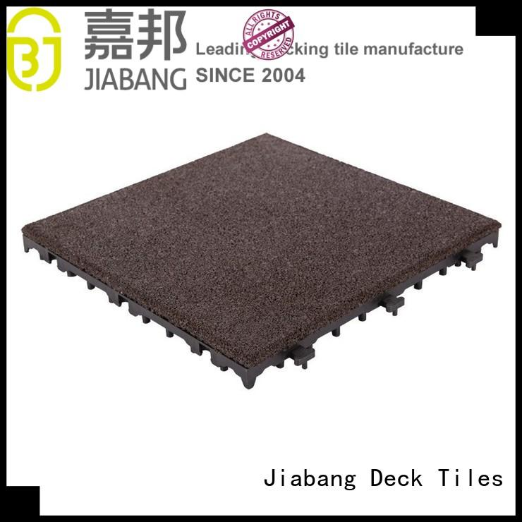 flooring interlocking rubber mats light weight house decoration JIABANG