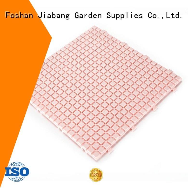 JIABANG anti-sliding plastic floor tiles top-selling