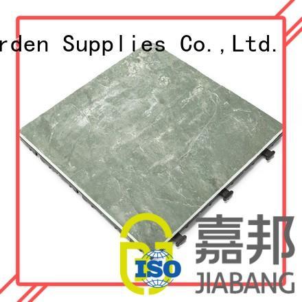 Quality JIABANG Brand tile interlocking stone deck tiles