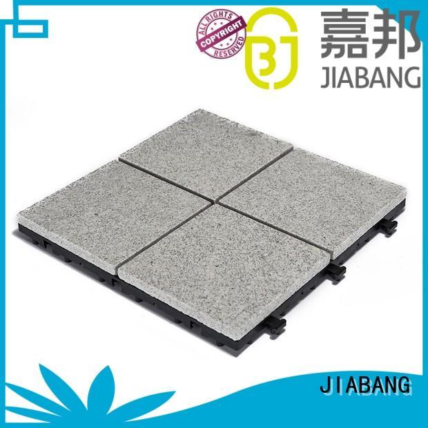 Outdoor interlocking granite tiles for patio JBG2334