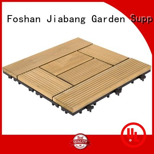 JIABANG adjustable hardwood deck tiles wood deck for balcony