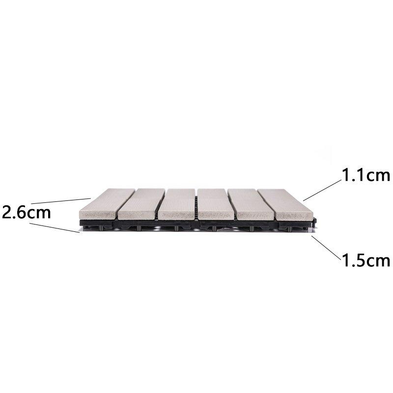 durable plastic decking tiles popular garden path-3