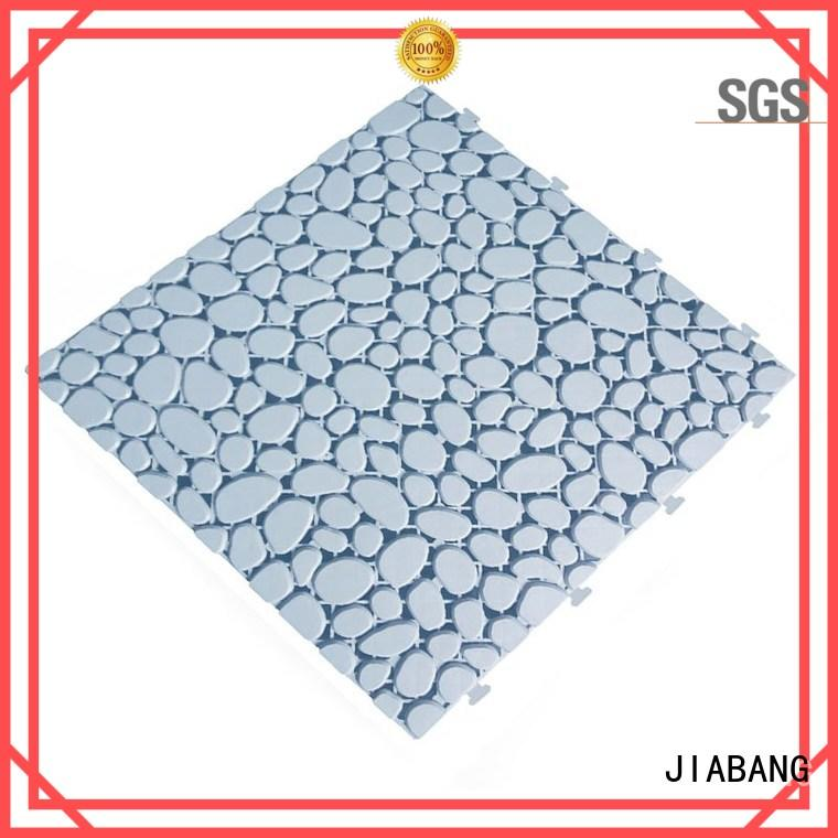 JIABANG protective interlocking plastic patio tiles top-selling