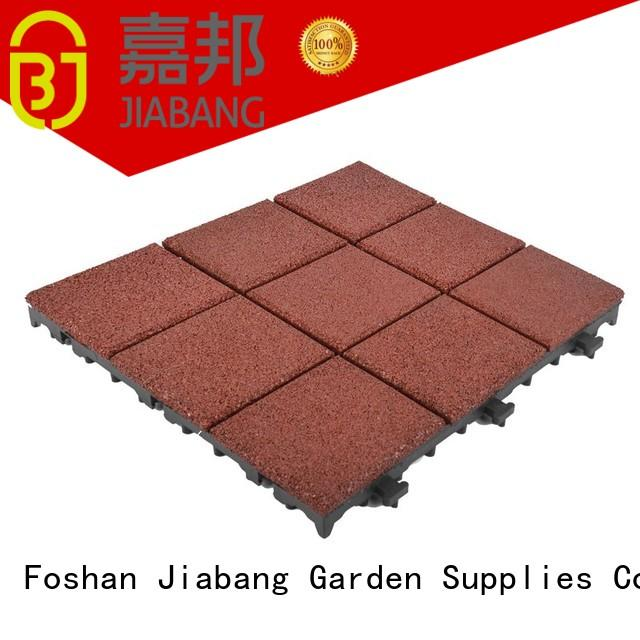 interlock interlocking rubber mats decking JIABANG company