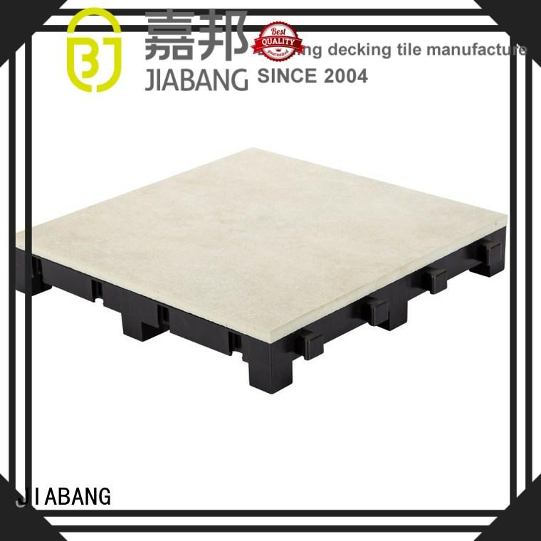 JIABANG porcelain deck tiles roof building for patio