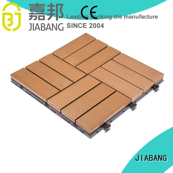 JIABANG hot-sale plastic decking tiles high-quality home decoration