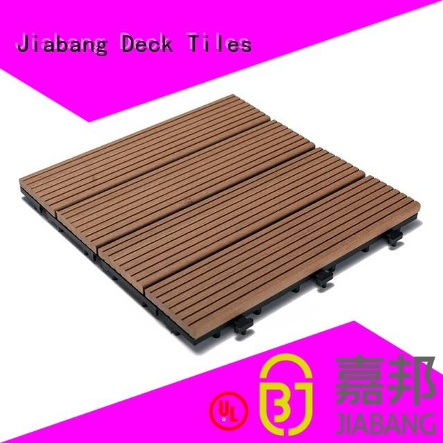 composite wood tiles wpc white JIABANG Brand company