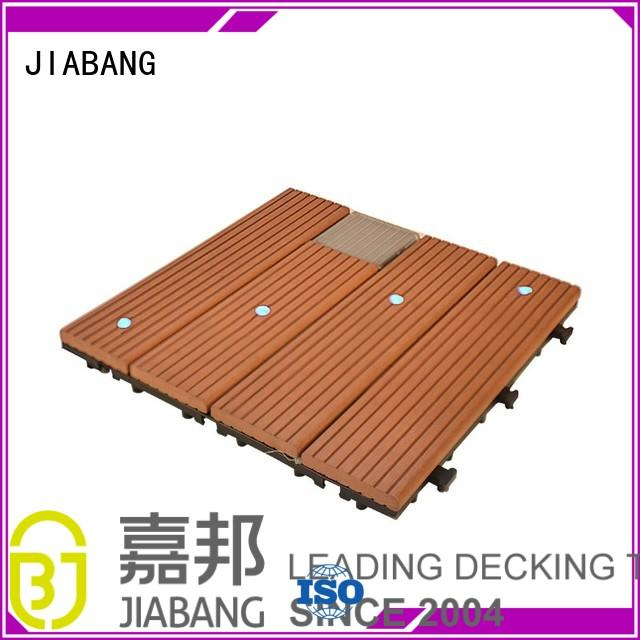Hot balcony deck tiles ecofriendly JIABANG Brand