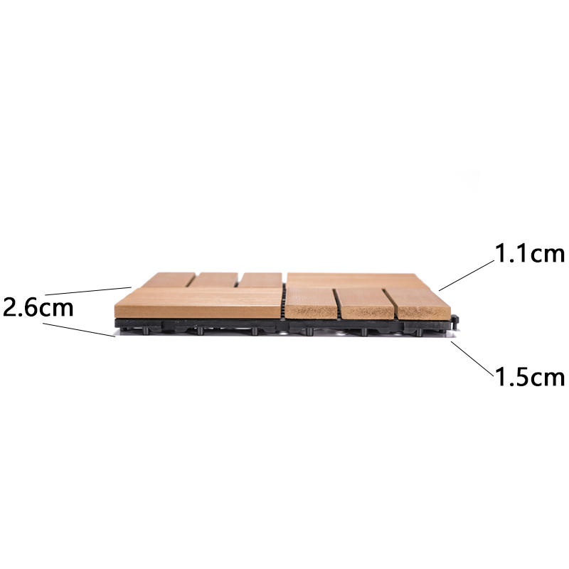 Woodland plastic deck tiles PS12P30312TKC-3