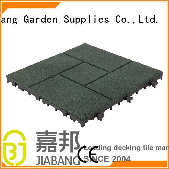rubber mat tiles composite tile interlocking rubber mats JIABANG Brand