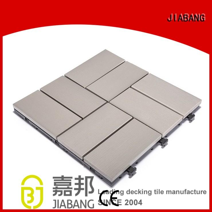 JIABANG wholesale outdoor pvc tiles high-quality gazebo decoration