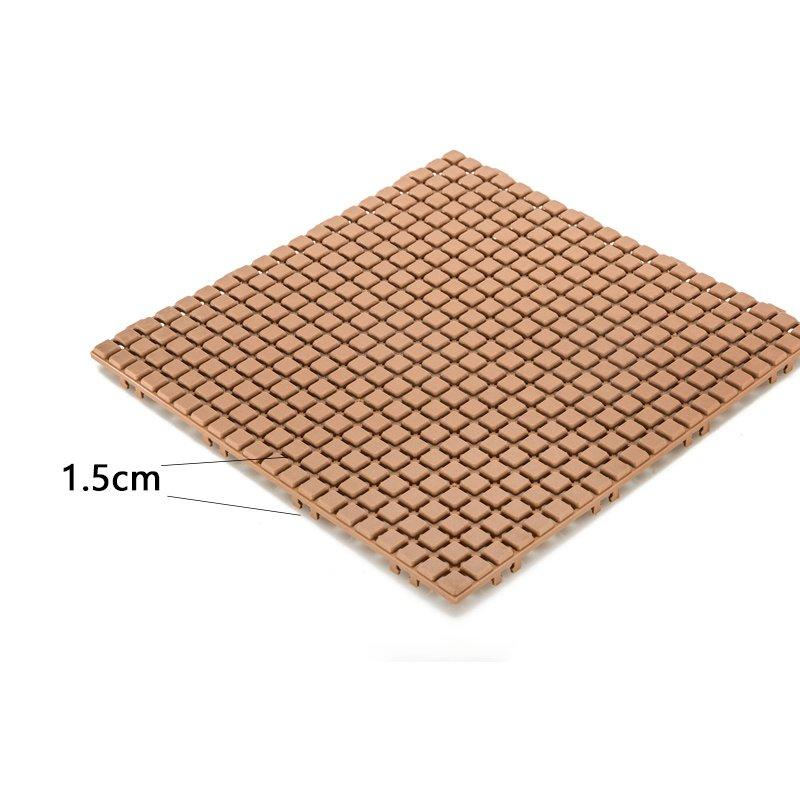 decorative plastic wood tiles plastic mat high-quality for customization-2