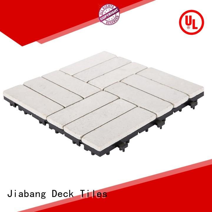 12x12' White color garden flooringstones TTS12P-YL