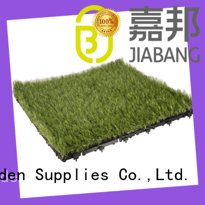 JIABANG high-quality synthetic grass tiles on-sale path building