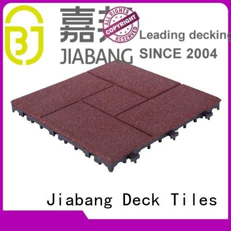 exterior rubber mat tiles direct JIABANG company