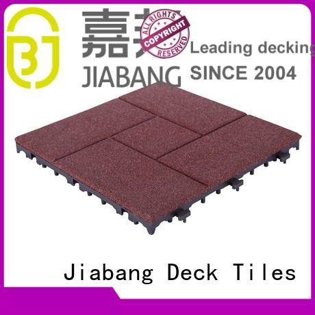 exterior rubber mat tiles direct JIABANG company