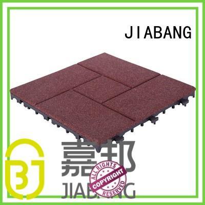 JIABANG playground interlocking rubber mats low-cost at discount