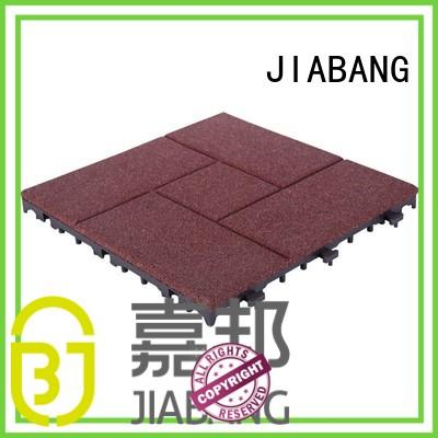JIABANG playground interlocking rubber mats low-cost at discount