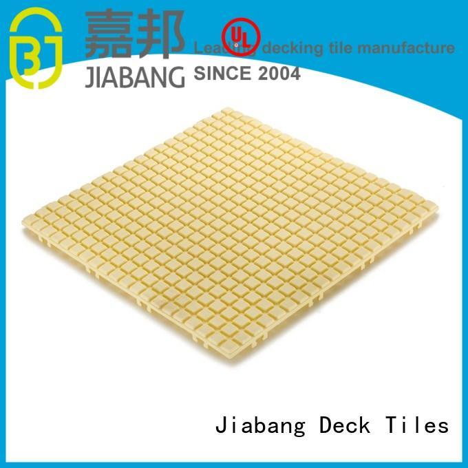 plastic floor tiles outdoor anti coral JIABANG Brand