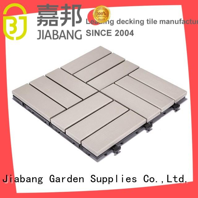 Plastic sun room decking tile PS12P30312LGC