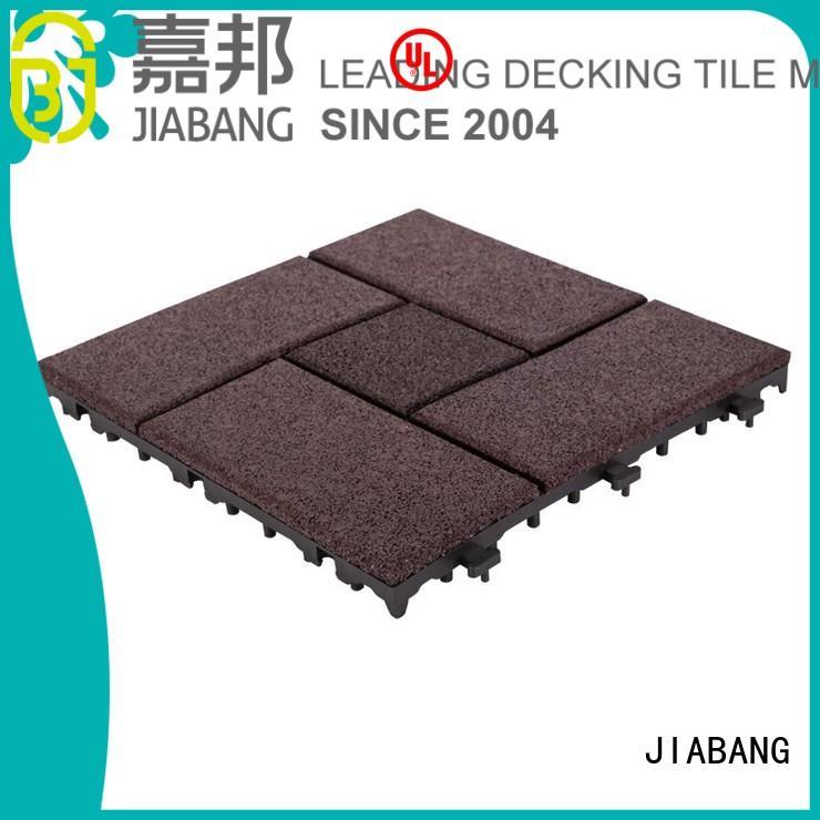 Hot rubber mat tiles sport JIABANG Brand
