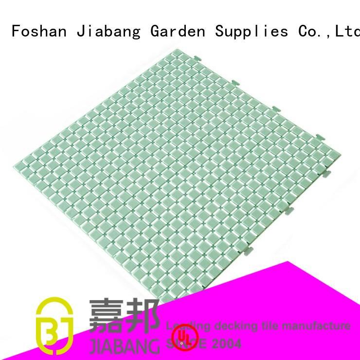 hot-sale plastic floor tiles outdoor JIABANG