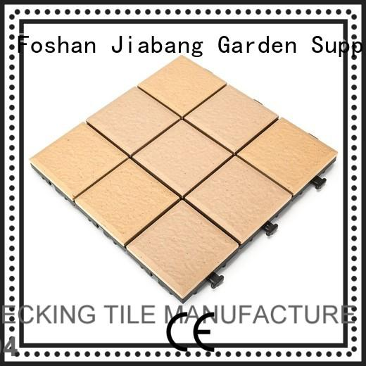 outdoor decking porcelain JIABANG Brand porcelain patio tiles supplier