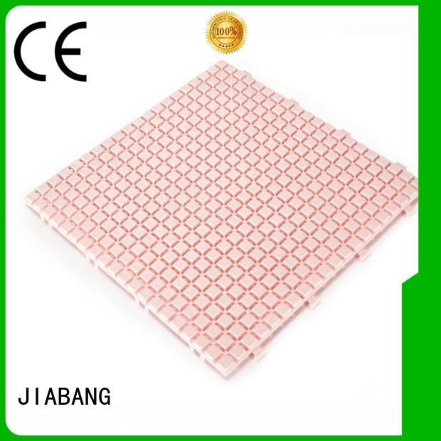 JIABANG hot-sale outdoor plastic tiles high-quality kitchen flooring