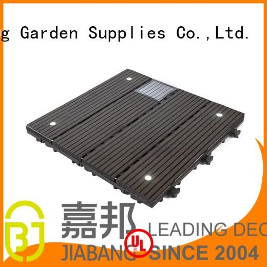 high-quality modular decking panels garden lamp JIABANG