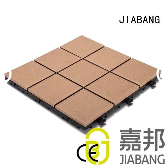 porch tile floor porcelain patio tiles exhibition JIABANG Brand