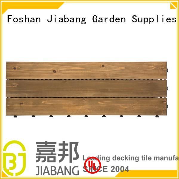 JIABANG Brand garden adjustable square wooden decking tiles wooden
